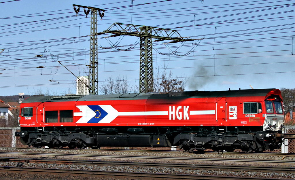 266 069 der HGK am 26.03.12 in Fulda