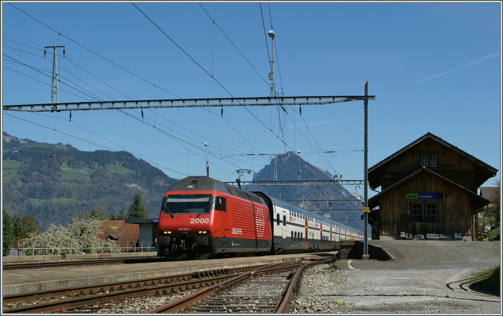 SBB IC in BLS Leissigen am 9. April 2011