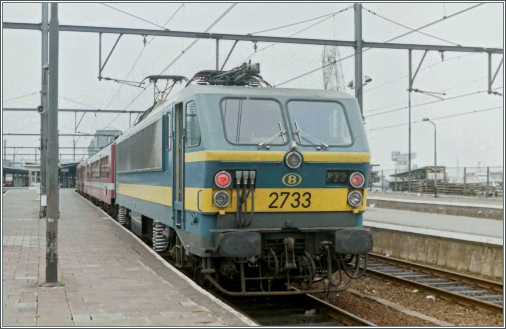 SNCB NMBS 2733 in Oostende