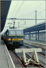 SNCB NMBS 2705 in Oostende. 