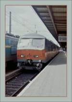 SNCB NMBS AM 75 831 in Oostende. (Sommer 1985/Gescannets Negative)
