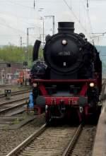 BR 41/67098/41-360-auf-dem-weg-zum 41 360 auf dem Weg zum Kohle fassen am 01.05.10 in Bebra