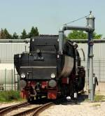 BR 52/137087/52-7409-in-welzheim-am-25411 52 7409 in Welzheim am 25.4.11 beim Wassernehmen.