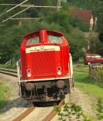 br-211-213-v100-west-auch-0212-v90p/138992/-212-094-7-durch-schleissweiler-am ..... 212 094-7 durch Schleißweiler am 28.4.11. Gruß an den TF !