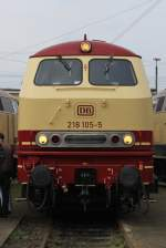 br-218-v-164/97453/218-105-am-190910-in-osnabrueck 218 105 am 19.09.10 in Osnabrück