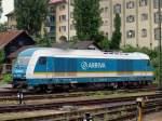 br-223-er-20de-2000/122557/223-067-von-arriva-alex-wartete 223 067 von Arriva (Alex) wartete auf den Alex aus München im Lindauer Bahnhof am 5.8.
