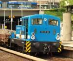 br-310-323-kof-i-u-ii/140437/v22-sp-031-alias-98-80-3312-014-4 V22-SP-031 alias '98 80 3312 014-4 D-SLG' stand am 21.5.11 mit einem Schotterzug im Hamburger Hbf