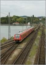 BR 0611/164448/zwei-611-in-lindau20092011 Zwei 611 in Lindau. 20.09.2011