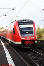 BR 0612/101065/von-hagen-nach-kassel-wilhelmshoehe-die Von Hagen nach Kassel Wilhelmshöhe die 612 050 hier in BHF Immenhausen (Hessen)