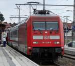 br-6101-adtranz/152355/101-028-9-mit-ic-am-200711 101 028-9 mit IC am 20.07.11 in Pasewalk