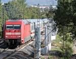 br-6101-adtranz/160720/101-023-mit-ic-am-240911 101 023 mit IC am 24.09.11 in Burghaun