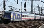 br-6101-adtranz/161011/101-101-4-mit-ic-2158-nach 101 101-4 mit IC 2158 nach Frankfurt am 26.09.11 in Fulda