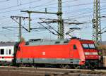 br-6101-adtranz/167433/101-126-mit-ic-am-141111 101 126 mit IC am 14.11.11 in Fulda