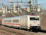 br-6101-adtranz/57060/101-034-7-in-form-mit-ic 101 034-7 'in form' mit IC 2872 am 05.03.10 in Fulda