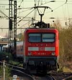 br-6143-ex-dr-243/133469/143-616-1-schob-die-rb-nach 143 616-1 schob die RB nach Neumünster aus dem Bahnhof Hamburg-Altona am 15.4.