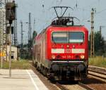 br-6143-ex-dr-243/158319/mit-der-regionalbahn-26423-von-leipzig Mit der Regionalbahn 26423 von Leipzig Hbf nach Weißenfels rauschte 143 319-2 in den Großkorbethaner Bahnhof am 3.8.11.