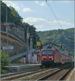 br-6143-ex-dr-243/96159/143-551-0-mit-einer-s-1 143 551-0 mit einer S 1 in Königsstein am 22. September 2010.