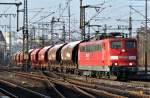 BR 6151/166692/151-067-6-mit-gueterzug-am-091111 151 067-6 mit Güterzug am 09.11.11 in Fulda