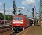 br-6152-es-64-f/88034/152-086-5-mit-gueterzug-am-140810 152 086-5 mit Güterzug am 14.08.10 in Fulda