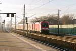 br-6182-es-64-u2-/530681/182-018-mit-dem-ire-4275 182 018 mit dem IRE 4275 'Berlin-Hamburg-Express' von Hamburg Hbf nach Berlin Ostbahnhof in Rathenow. 04.12.2016