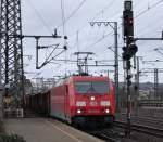 br-6185-traxx-f140-ac1-ac2/118865/185-345-6-mit-gueterzug-am-050211 185 345-6 mit Güterzug am 05.02.11 in Fulda