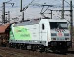 br-6185-traxx-f140-ac1-ac2/131598/185-389-4-mit-gueterzug-am-070411 185 389-4 mit Güterzug am 07.04.11 in Fulda