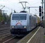 br-6185-traxx-f140-ac1-ac2/66375/185-538-6-von-txl-fuhr-mit 185 538-6 von TXL fuhr mit einem gemischten GZ durch den Harburger Bahnhof am 24.4