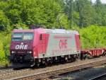 br-6185-traxx-f140-ac1-ac2/79760/ohe-185-534-5-mit-containerzug-am OHE 185 534-5 mit Containerzug am 30.06.10 in Jossa