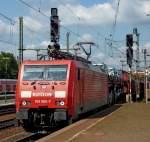 br-6189-es-64-f4-/88038/189-060-7-mit-gueterzug-am-140810 189 060-7 mit Güterzug am 14.08.10 in Fulda