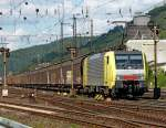 br-6189-es-64-f4-/92660/189-924-mit-gueterzug-am-050910 189 924 mit Güterzug am 05.09.10 in Gemünden am Main