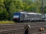 br-6189-es-64-f4-/94067/189-104-von-tx-mit-gueterzug 189 104 von TX mit Güterzug am 11.09.10 in Gemünden am Main