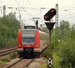 BR 0423/117661/423-104604-8-fuhr-als-s2-in 423 104/604-8 fuhr als S2 in den Bahnhof von Berg am Laim ein. Aufgenommen wurde das Bild am 28.7.