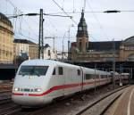 br-5401-ice-1/127233/aus-berlin-kommend-fuhr-ein-ice Aus Berlin kommend fuhr ein ICE 1 aus dem Hamburger Hbf am 12.3.
