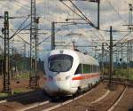 br-5411-5415-ice-t/107923/als-ersatzzug-fuhr-dieses-ice-t-doppel Als Ersatzzug fuhr dieses ICE-T Doppel aus dem Harburger Bahnhof am 28.8.