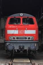 Sudwestfalisches Eisenbahnmuseum/96149/218-128-ist-ebenfalls-neu-in 218 128 ist ebenfalls neu in Siegen eingetroffen, gehört aber nicht den Eisenbahnfreunden Betzdorf. (18.09.10)
