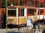 strassenbahn-dortmund/89415/ein-aufbautriebwagen-der-dortmunder-strassenbahn-steht Ein Aufbautriebwagen der Dortmunder Straßenbahn steht am 4. Juli 2010 am Mooskamp in Dortmund-Nette.