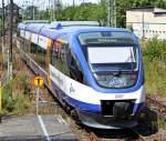 ola-ostseeland-verkehr-gmbh/152105/ostseeland-verkehr-gmbh-vt-0007-als Ostseeland Verkehr GmbH VT 0007 als OLA 79802 nach Bützow am 19.07.11 in Neubrandenburg