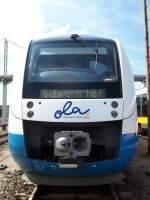 ola-ostseeland-verkehr-gmbh/50442/vt-706-der-ostseelandverkehr-gmbh-am VT 706 der OstseelandVerkehr GmbH am Tag der offenen Tür in Neubrandenburg.