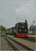 RUBB/183571/bei-nasskaltem-wetter-erreicht-der-rasende Bei nasskaltem Wetter erreicht der 'Rasende Roland' Binz LB.  18. Sept 2012