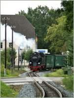 RUBB/97926/schneller-als-die-polizei-erlaubt-der Schneller als die Polizei erlaubt, der Rasende Roland auf Rügen... Bei Baabe, am 16. Sept 2010