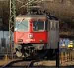 Eigene Bilder/131439/421-373-2-der-sbb-cargo-stand 421 373-2 der SBB Cargo stand abgestellt im Harburger Bahnhof.