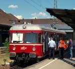 Eigene Bilder/133019/avg-vt-452-machte-eine-pause AVG VT 452 machte eine Pause im Karlsruher Hbf am 31.7.10