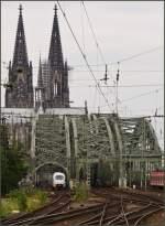 Dies und Das/152366/hier-spielt-der-ice-3-nur Hier spielt der ICE 3 nur eine untergeordnete Rolle...(Köln, 16.07.11)