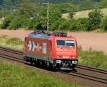 Bilder aus Harrbach/89435/185-589der-hgk-am-200810-in 185 589der HGK am 20.08.10 in Harrbach