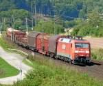 Bilder aus Harrbach/89473/152-086-5-mit-gueterzug-am-200810 152 086-5 mit Güterzug am 20.08.10 bei Harrbach