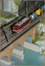 Die Bahn im Modell/108254/143-361-4-im-ungewohnten-gueterzugsdienst-6 143 361-4 im ungewohnten Güterzugsdienst.  6. Nov. 2010