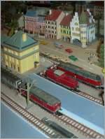 Die Bahn im Modell/109664/bundesbahndiesellokklassiker-in-z-v-221-v Bundesbahndiesellokklassiker in 'Z': V 221, V 100 und BR 218.  6.12.2010