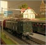 Die Bahn im Modell/114505/die-maerklin-ae-36-auf-meiner Die Märklin Ae 3/6 auf meiner HO Anlage.  18.12.2010