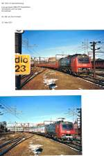 Ein Blick in mein Fotoalbum/71127/selbst-als-die-dsb-ihre-strecken Selbst als die DSB ihre Strecken elektrifizierte, blieb der abwechslungsreiche Verkehr mit verschiedenen Lok- und Zugtypen zur Freude der Fotografen erhalten; doch im DSB-Verkehr SBB Doppelstockwagen zu erleben, dass war nur eine kurze Zeit möglich. Oesterport, 20. März 2001
