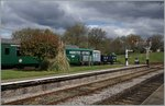 Bluebell Railway, Horsted Keynes, Museumsbahn-Aminete vom Feisten. 